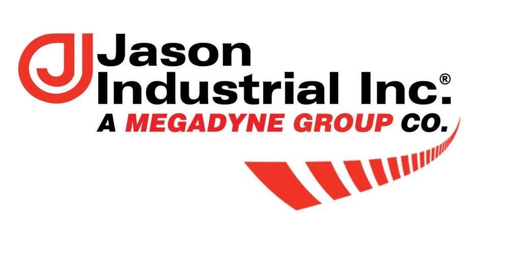 Jason Industrial 6341-1205 Series 6341 Skirtboard Rubber, Square Edge, 3/8'' Gauge x 5'' Width, 50' Length, 1/2''