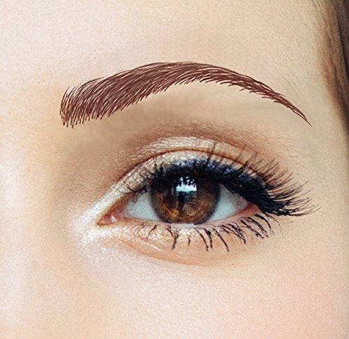 855436002353 upc temporary tattoo eyebrows sway light for Temporary eyebrow tattoos