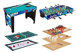KMH®, Multifunktionsspieltisch 12 in 1 / Multigame Tisch /...
