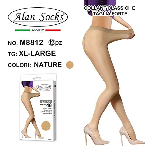 12 Collant Socks Pezzi Nature Donna Da Collant Alan Kit Colore vw7A585Wq