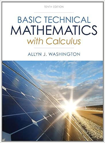 Basic technical mathematics with calculus plus new mymathlab with basic technical mathematics with calculus plus new mymathlab with pearson etext access card package 10th edition washington technical mathematics fandeluxe Gallery