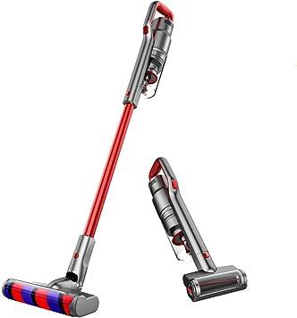 Handheld sin cuerda Aspiradora, mojado seco del coche del aspirador de pelo del animal doméstico, Casa y Coche liuchang20 (Color : Red): Amazon.es: Bricolaje y herramientas