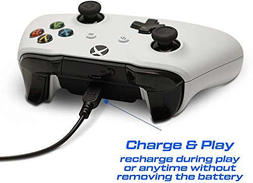 Rechargeable 1200mAh Battery Pack for Xbox One Controller with Micro USB Cable