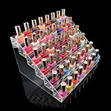 1-Set Pretty Popular Hots Nail Polish Organizer Fashion Art Grids Cosmetic Stand Cube Box Color Transparent 6 Tier Style #09