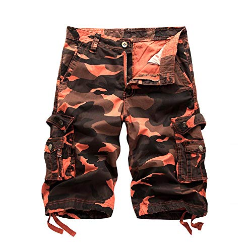 - Shorts for Men, F_Gotal Men's Casual Camouflage Cargo Pants Pocket Overalls Work Pants Training Jogger Shorts Sweatpants