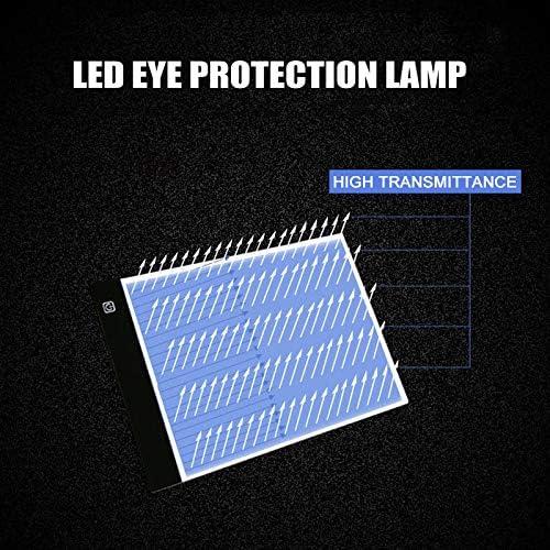 Carremark Tavoletta Grafica Digitale da tavoletta Grafica a LED con tracciato per copiare la Grafica di Scrittura