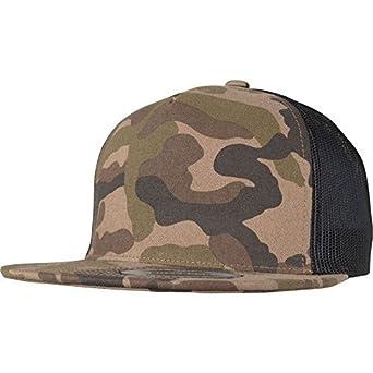 877502fa48292 Flexfit Classic Trucker 5-Panel Snapback Cap - Desert camo at Amazon Men s  Clothing store