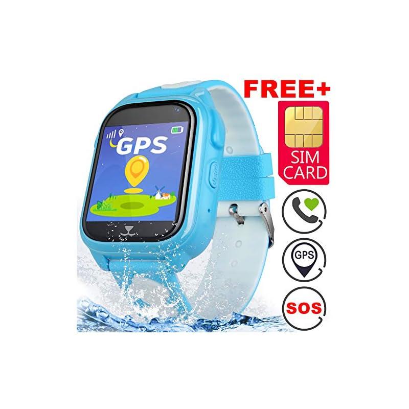 [SIM Card Include]Kids Phone Smart Watch