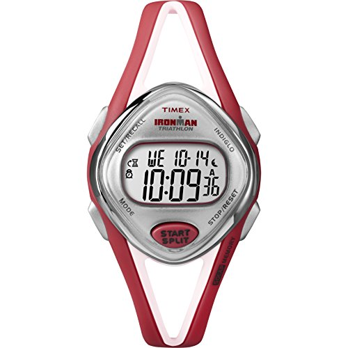 Ironman Women's | Red Strap Red Case 50 Lap Sport Running Watch - Timex T5K787