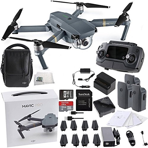 DJI-Mavic-Pro-FLY-MORE-COMBO-Collapsible-Quadcopter-Starters-Bundle