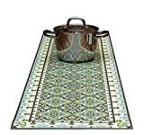Victoria trivet table runner for hot dishes and pots ; 53 1/8 X 13 3/4 Inches ; By Tiva Design