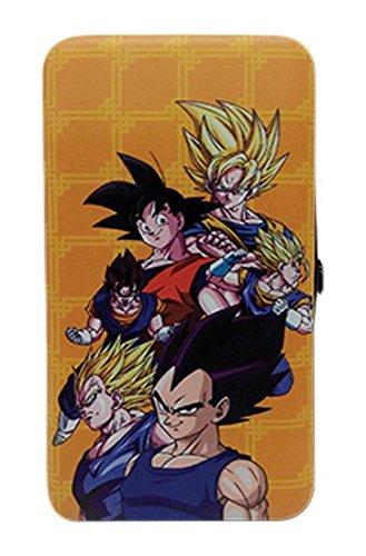 Great Eastern Entertainment Dragon Ball Z - Goku & Vegeta Hinge Wallet