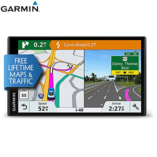 Garmin 010-01681-02 DriveSmart 61 NA LMT-S GPS w/Smart Features (Renewed) (Garmin Live Traffic)