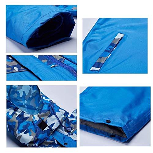 Taglie Impermeabili Viaggi Blau Piumini Abiti Escursionistici Fashion Impermeabile Comode Festival Parchi Capispalla Multifunzione Hx Tematici apzYRw