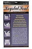 Creative Mark Krystal Seal Art and Photo Bags - Resealable Archival Storage Bags Art Sleeves Plastic Bag Used for Protecting Artwork Resealable with Adhesive Strip - [25 Pack - 13 x 19']