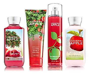 Bath  Body Works COUNTRY APPLE Deluxe Gift Set Lotion Cream Amazon com