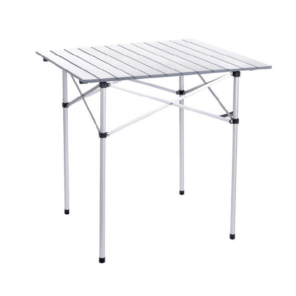 屋外折りたたみラップトップキャンプ折りたたみテーブル/アルミ合金ピクニックテーブル B07BXMVWDB