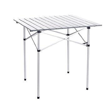 Gghy-camping tables Mesa portátil portátil Plegable, Peso Ligero ...