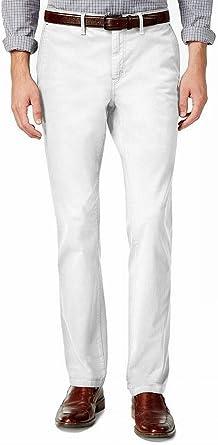 Amazon Com Michael Kors Pantalones Chinos De Corte Delgado Para Hombre Slim Clothing