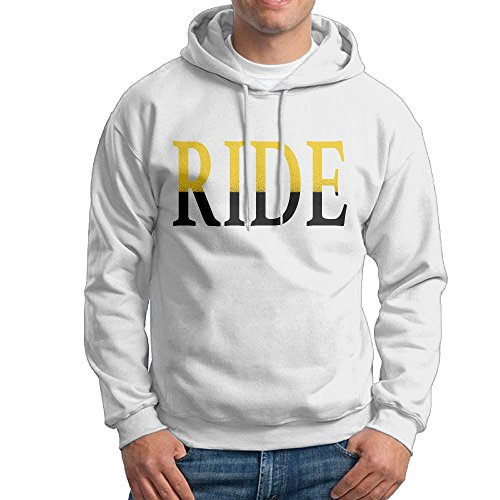 Ride White Snowboard Boots (OFKERNFJ Ride 2017 New Style Men White Hoodie Outwear Design Guys)