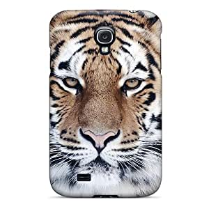 New Tiger Close Up Tpu Case Cover, Anti-scratch ZYW6708yXzv Phone Case For Galaxy S4