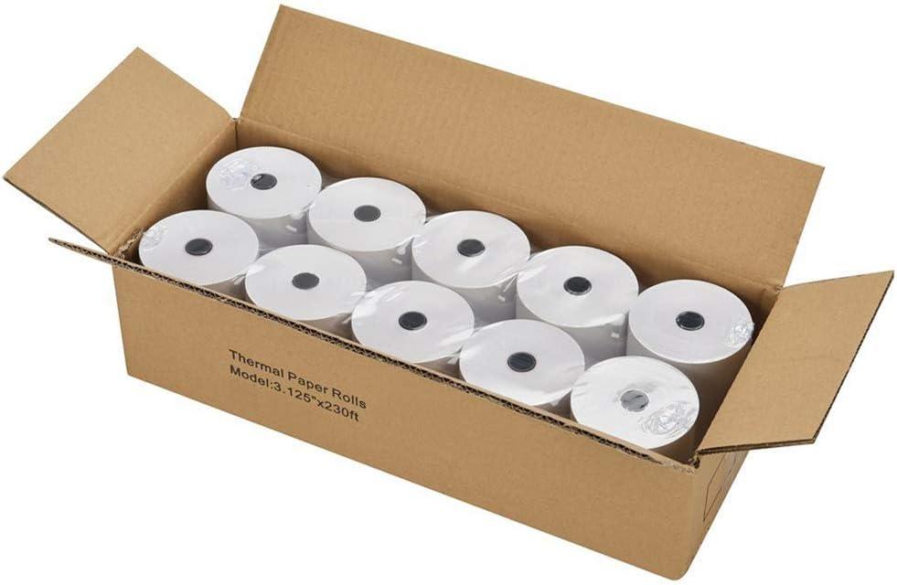 Gorilla Supply Thermal Paper Rolls 2-1//4 X 230ft 50//cs Cash Register