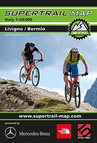 Supertrail Map Bormio / Livingo: Maßstab 1:50 000