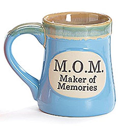 Memories Porcelain - Blue MOM Maker of Memories Porcelain 18 oz Coffee Mug