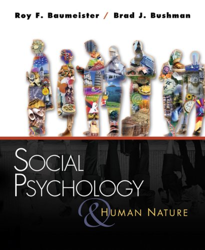 Social Psychology And Human Nature Brief Version