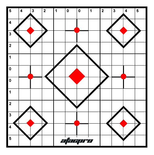20PK Atac Pro 100yard Crosshair Sighting Targets Range Shooting Rifle ()