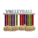Volleyball Medal Hanger Display V1   Sports Medal Hangers   Stainless Steel Medal Display   by VictoryHangers - The Best Gift for Champions !