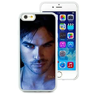 High Quality iPhone 6 6S 4.7 Inch TPU Case ,Ian Somerhalder 2 White iPhone 6 6S Cover Unique And Fashion Designed Phone Case
