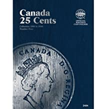 By Author - Canada 25 Cents Collection 1990 to 2000 Number Four (Official Whitman Coin Folder)