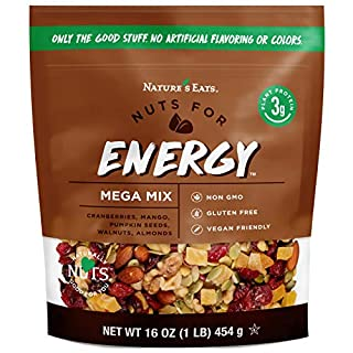 Nature's Eats Nuts for Energy Trail Mix, 16 oz