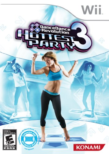DanceDanceRevolution Hottest Party 3-Software Only - Nintendo Wii (Dance Revolution Dance Costumes)