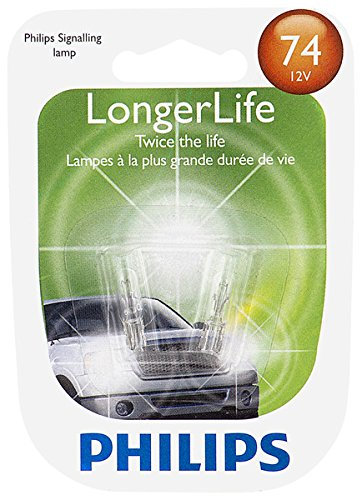 2 Pack Executive Glasses (Philips 74 LongerLife Miniature Bulb, 2 Pack)
