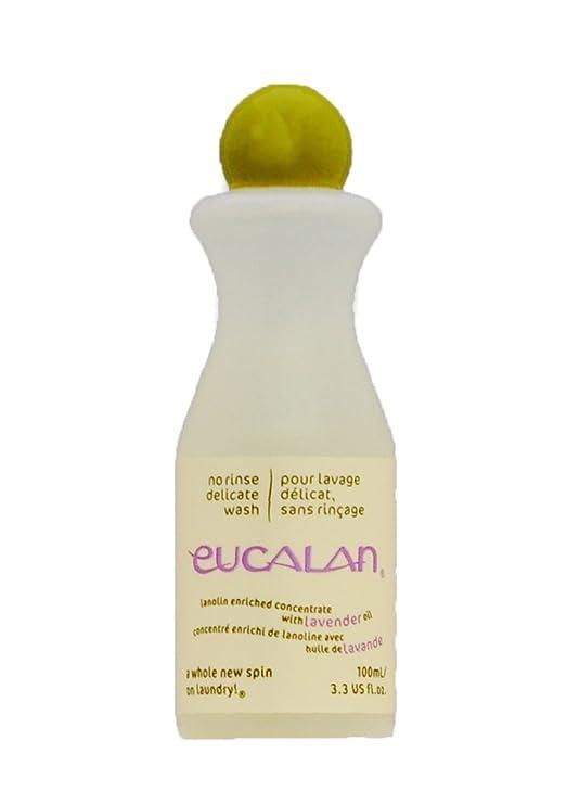 Eucalan 0666884100528 pflegendes Feinwaschmittel, Lavendel, 100 ml für Handwäsche