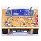 Yeeco DC 8A 150W Adjustable Boost Step Up Converter 10V-32V to 10-60V LCD Digital Display Voltage Transformer Testing Gauge Booster Constant Volt Board Regulator Current Monitor Power Supply Module