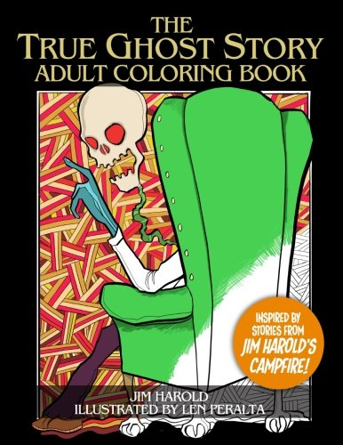 Halloween Inspired Names (The True Ghost Story Adult Coloring Book: Inspired By Jim Harold's)