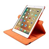 TechCode iPad 3 Bumper Sleeve, 360 Degrees Rotating Magnetic PU Leather with Stand Smart Case Cover for Apple iPad 2/iPad 3/iPad 4 9.7 inch