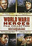 World War II Heroes Film Collection (Run Silent, Run Deep / The Great Escape / A Bridge Too Far / The Battle of Britain) (Bilingual)