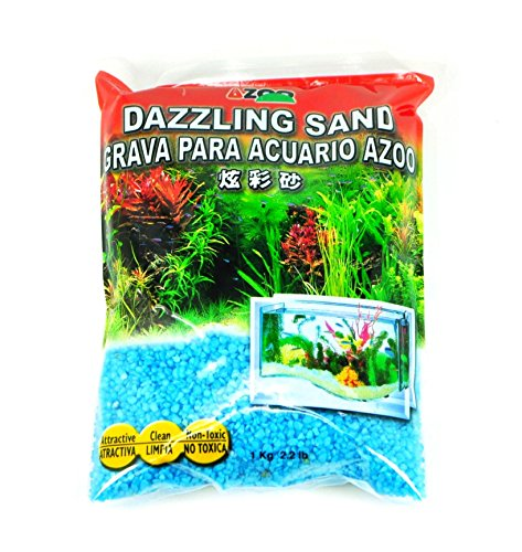 Azoo Fluorescent Color Gravel for Aquarium,