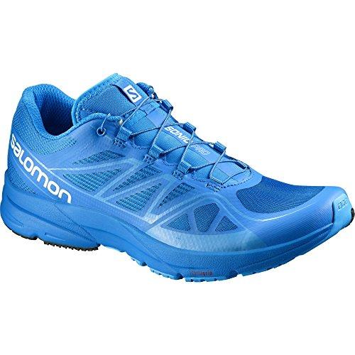 Salomon Men's Speedcross 3 Trail Running Shoe, Slate Blue/Black/Deep Blue, 12 D US