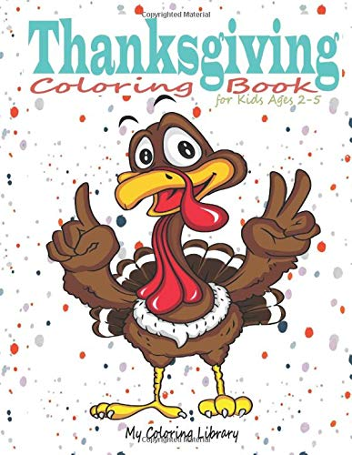 Here's a Great Price on Thanksgiving Coloring Book for Toddlers ... | 500x387