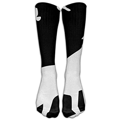 Chaussettes Kotdeqay Christmas Present Man Hip-hop Unisex Athletic high Knee Long Cotton Stockings Breathable Compression Socks