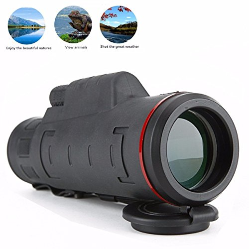 30X50 Focus Monocular Scope - CAMTOA Portable HD Spotting Scopes Optical Prism Telescope - Compact Monocular - Bright and Clear For Concert, Hunting, Camping, Bird Watching,Hunting, Camping