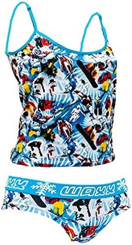 Ski And Snowboard Theme Waxx Funky Ladies Snow Underwear Set Size 12-14 Gift In A Tin