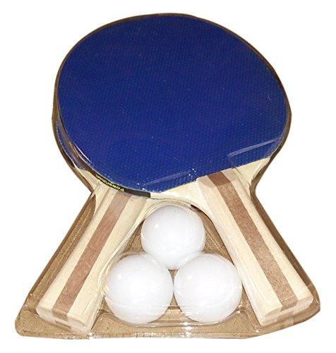 Review Powerthon Table Tennis Paddles – Set of 2 Recreational Table Tennis Paddles with 3 Upgraded Table Tennis Balls