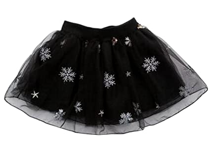 ed5b97909 Black Temptation [Nieve Negra] Falda de tutú para niña Falda de ...