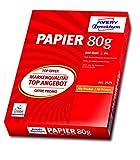 Купить Avery Zweckform 2575 Drucker- und Kopierpapier A4 (80 g/m², 500 Blatt) weiß (Optimierte Schutzverpackung)